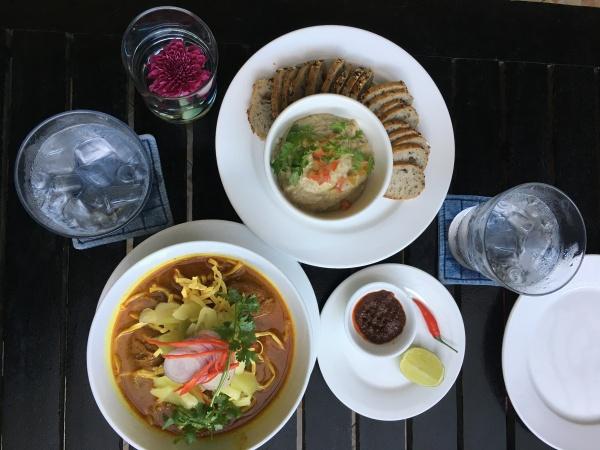 Kambodscha - Lunch im Friends Restaurant in Phnom Penh