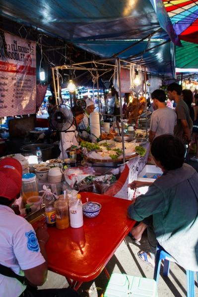 Thailand - Street Food Stand in Bangkok