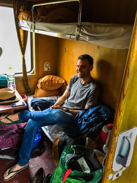 Vietnam, Dong Hoi nach Ninh Binh - 4-er Abteil im Nachtzug