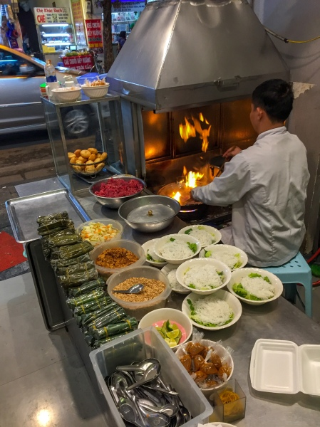 Vietnam, Hanoi - Street Food Bun Bo Nam Bo Restaurant