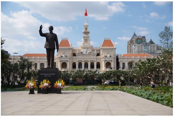 Vietnam, Ho Chi Minh City - Ho Chi Minh Statue