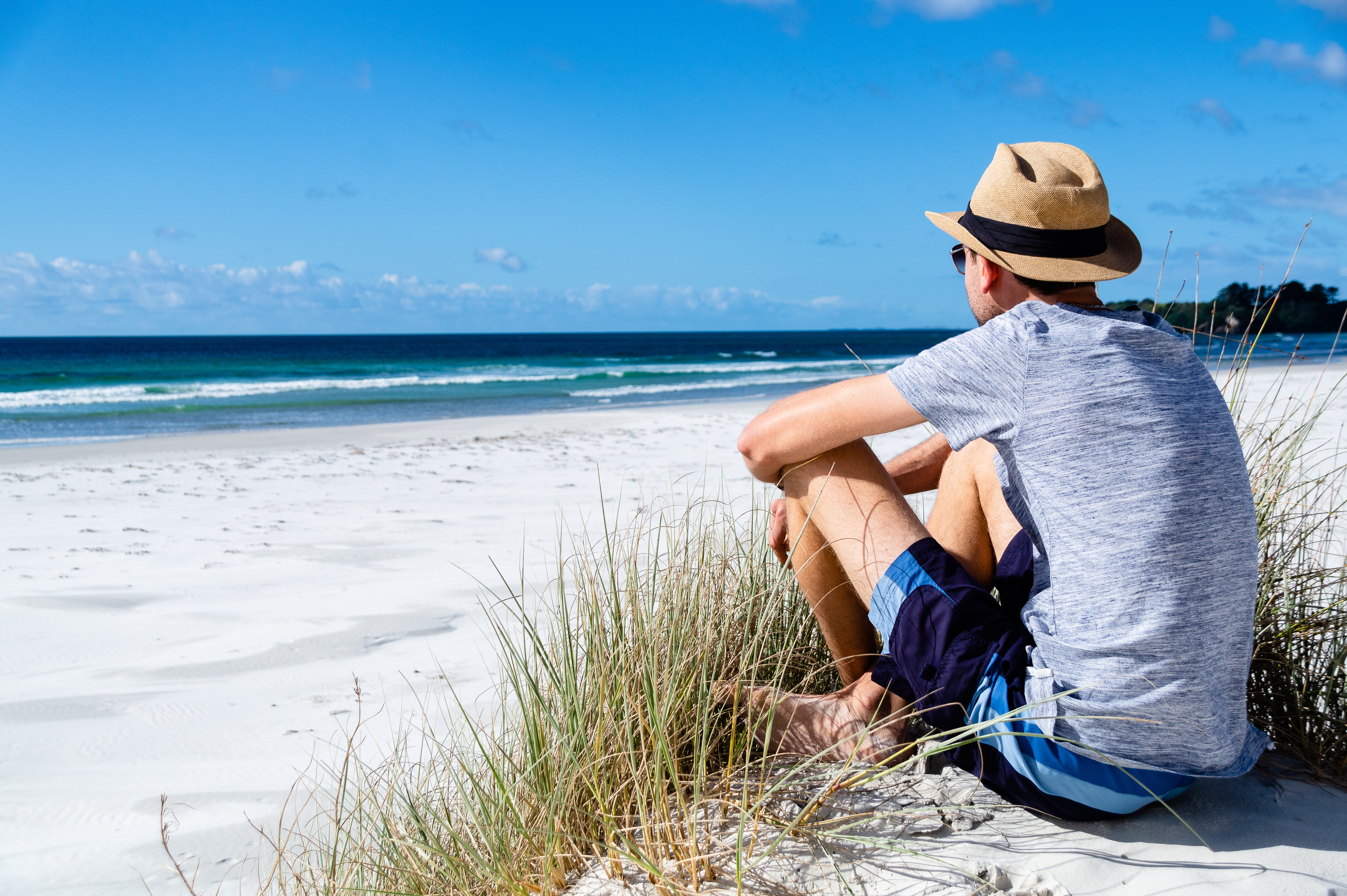 Neuseeland - White Sand Beach in Northland