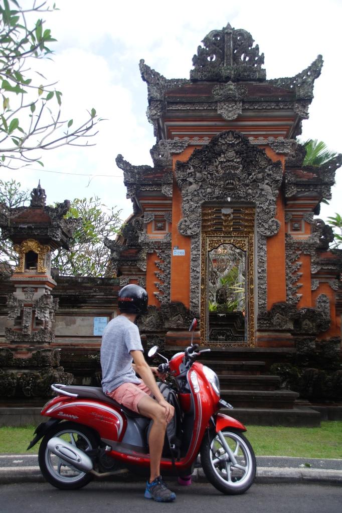 Unser erster Eindruck von Bali ist überwältigend