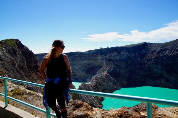 Magischer Anblick: Die Kraterseen in grellen Türkistönen