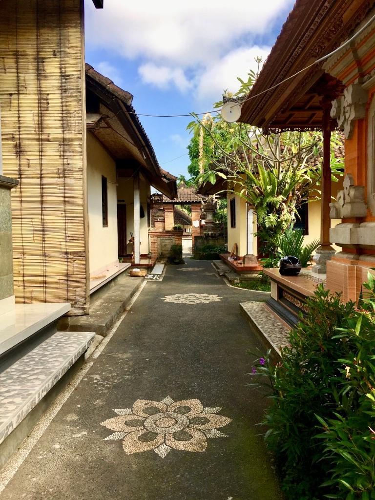 Ein klassisches Zuhause im balinesischen Stil